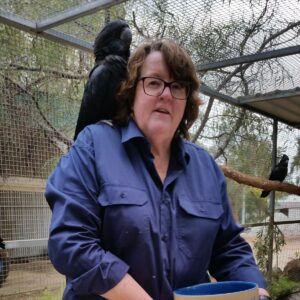 Meet Leisa: the incredible woman at the wheel of our cockatoo ambulance!